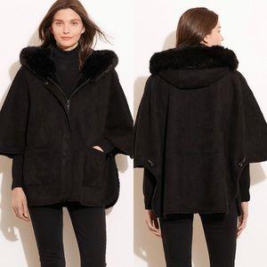 Lauren Ralph Lauren hooded cape